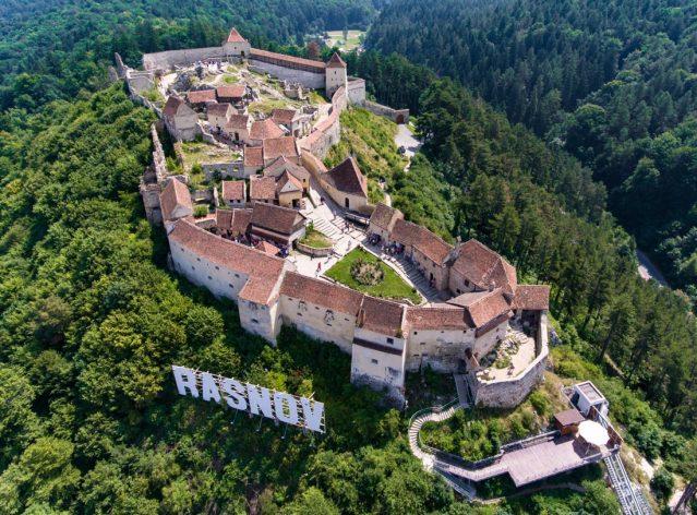 Tura cu Motoparapanta Cetati Medievale